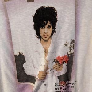 Prince Tops - Prince Concert Tee White